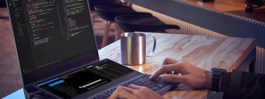 ROG Zephyrus Duo 15: novo notebook gamer tem 'meia tela' extra