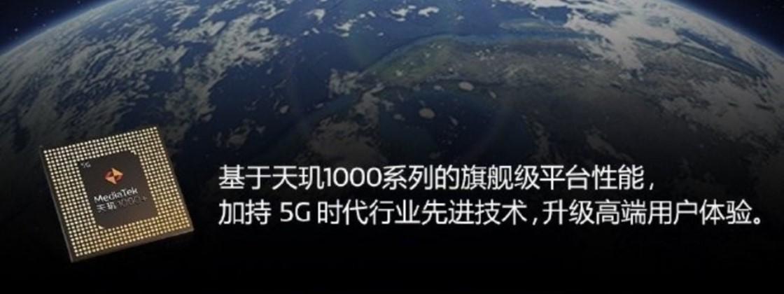 MediaTek anuncia chip Dimensity 1000+ para telas de 144 MHz