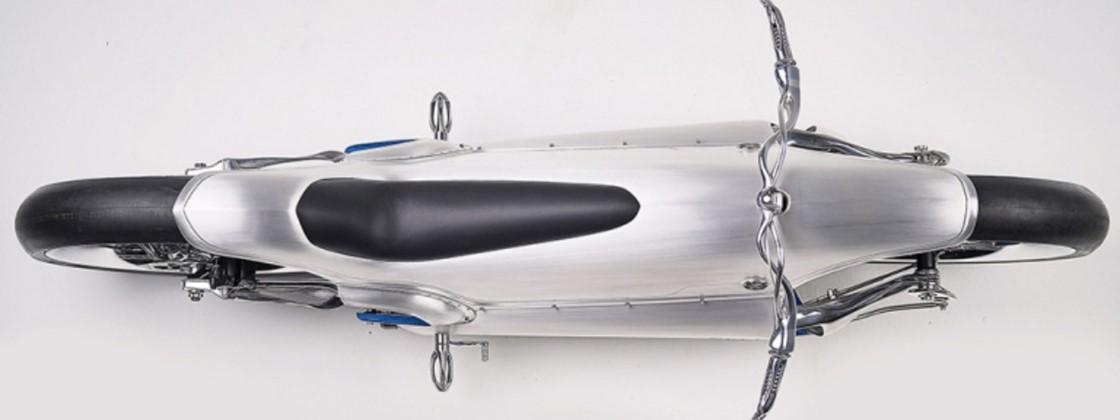 Conheça a moto elétrica futurista feita com peças impressas em 3D