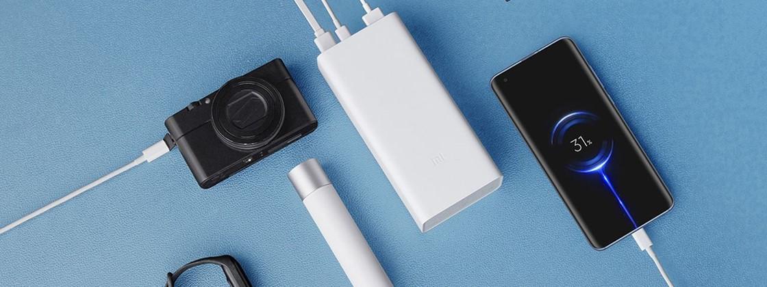 Xiaomi Mi Power Bank 3 é lançada com 30.000 mAh