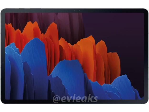 Samsung Galaxy Tab S7: imagens mostram câmera frontal na horizontal