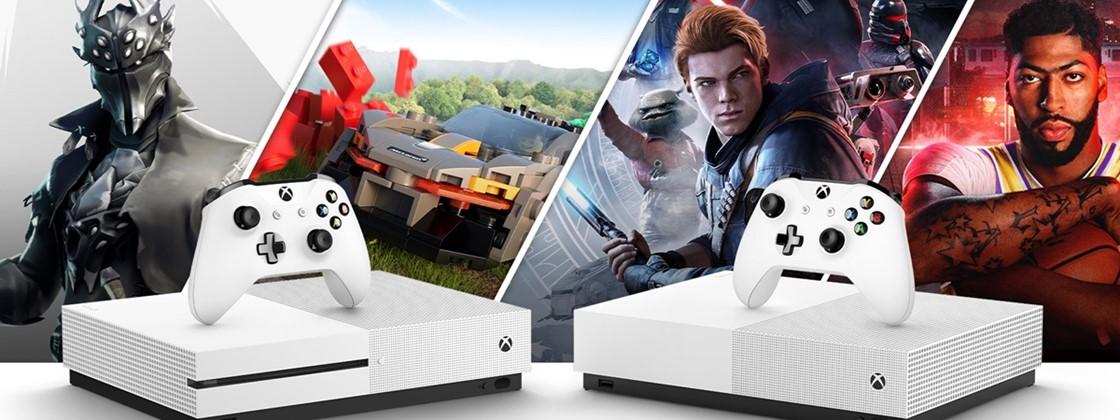 Xbox One X e Xbox One S digital são descontinuados pela Microsoft