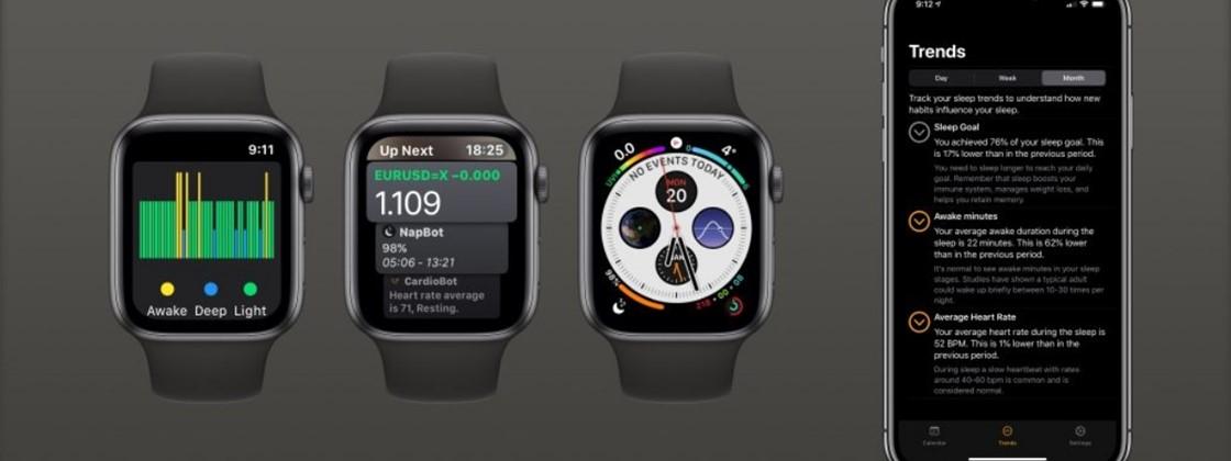 Novo NapBot deixa o rastreio de sono muito melhor no Apple Watch