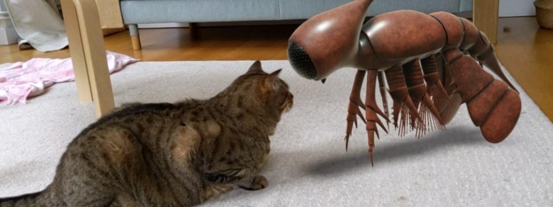 Animais pré-históricos em 3D chegam ao Google