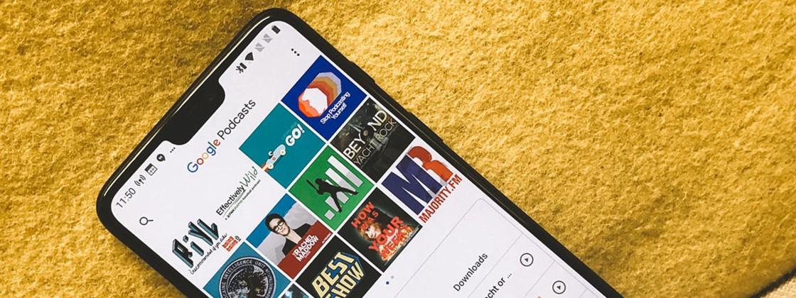 Google Podcasts chega ao iOS com grande atualização