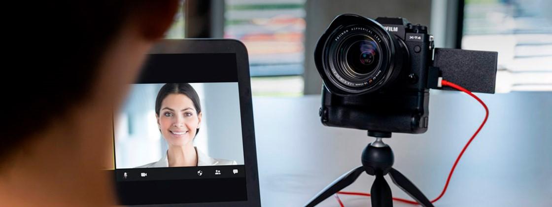 Fujifilm lança aplicativo para PC que transforma câmera em webcam